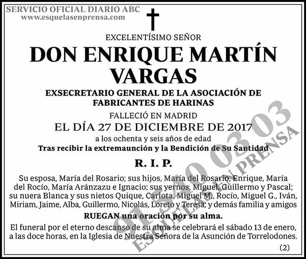 Enrique Martín Vargas